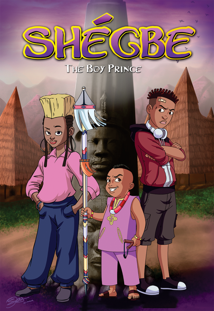 AAN 5 Animation du Monde @ DISCOP Abidjan: Shegbe - The Boy Prince by Ayodele Elegba SPOOF! Animation