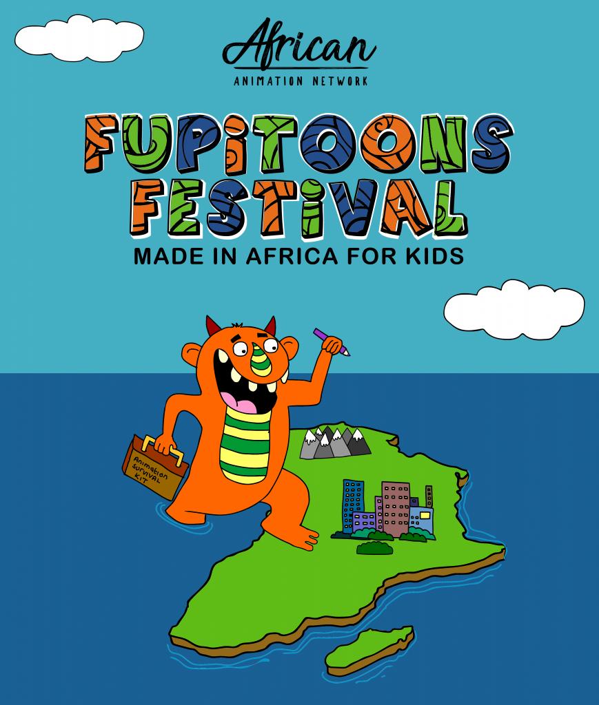FUPiTOONS FESTiVAL 2018 - Poster design by Comfort Arthur