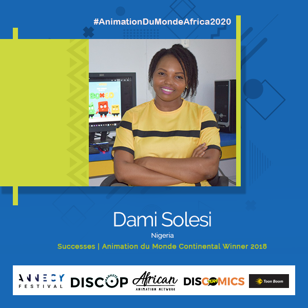 DAMI SOLESI ANIMATION DU MONDE CONTINENTAL WINNER 2018