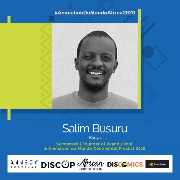 SALIM BUSURU ANIMATION DU MONDE CONTINENTAL FINALIST 2019