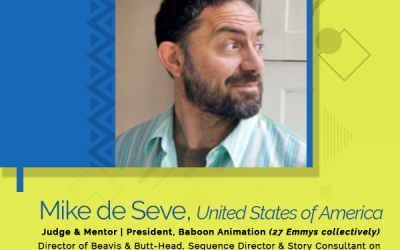 Animation du Monde / AAFFIA / 2nd Judge & Mentor Announced