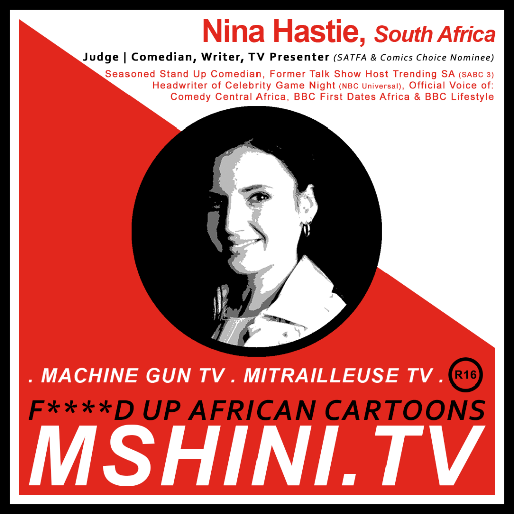 MSHINI TV: JUDGE, NINA HASTIE