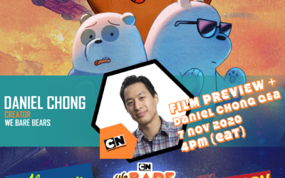 EXCLUSIVE: WE BARE BEARS FILM PREVIEW + Q&A WITH DANIEL CHONG