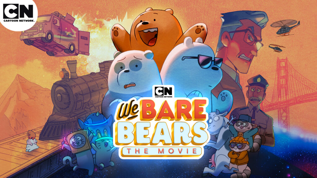WE BARE BEARS: The Movie Premieres across Africa 29th November
